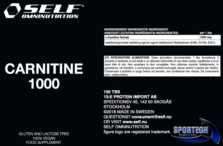 self-carnitine-1000-info